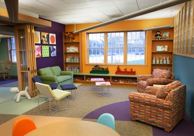 Elm Grove Library Children's Area