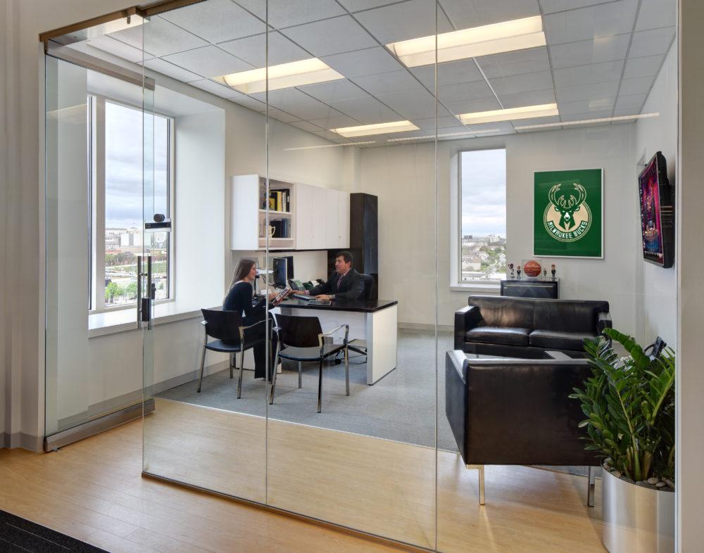Milwaukee Bucks | Private Office