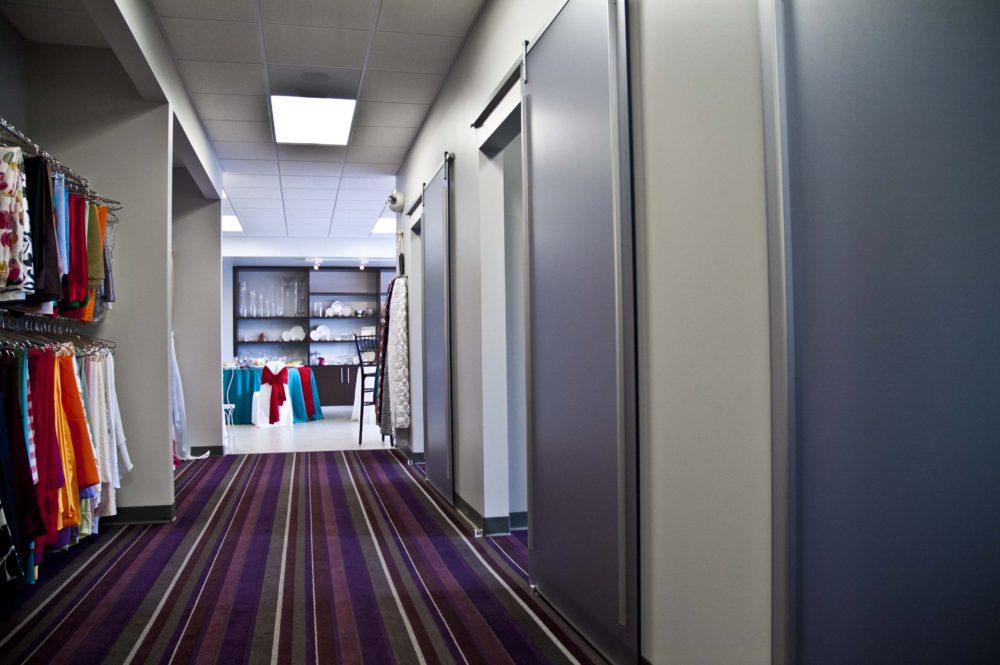 Showroom Hallway